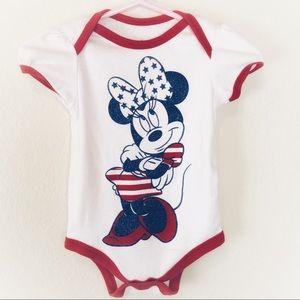 Sparkly Patriotic Minnie Mouse Onesie by Disney!